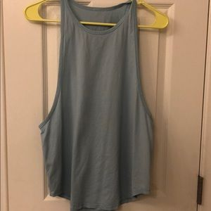 lululemon sweat date tank - size 8